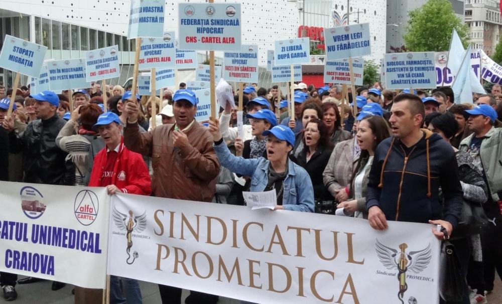 Sindicatul PROMEDICA acuză Ministerul Sănătății de gravă încălcare a prevederilor Legii 153/2017